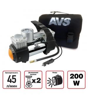 Компрессор автомобильный AVS Turbo KE450L
