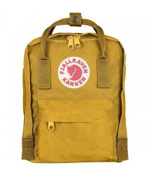 Рюкзак Fjallraven Kanken Mini, желтый, 20х13х29 см, 7 л