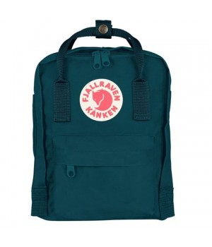 Рюкзак Fjallraven Kanken Mini, сине-зеленый, 20х13х29 см, 7 л