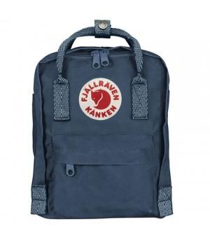 Рюкзак Fjallraven Kanken Mini, синий, 20х13х29 см, 7 л