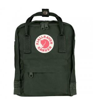 Рюкзак Fjallraven Kanken Mini, темно-зеленый, 20х13х29 см, 7 л