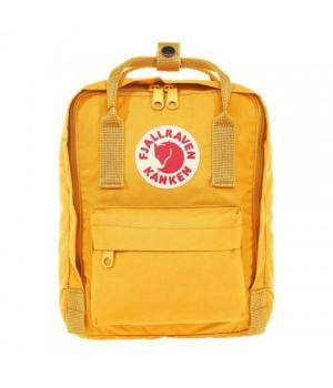 Рюкзак Fjallraven Kanken Mini, ярко-желтый, 20х13х29 см, 7 л