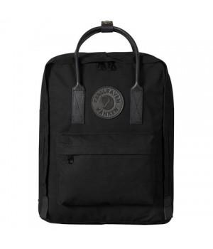 Рюкзак Fjallraven Kanken No. 2 Black Edition, черный, 27х13х38 см, 16 л
