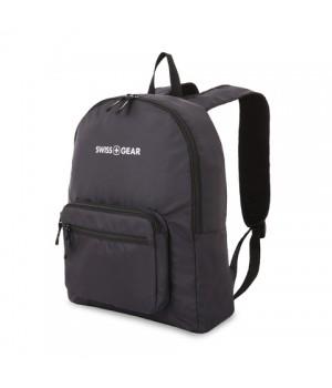 Рюкзак Swissgear складной, черный, 33,5х15,5x40 см, 21 л