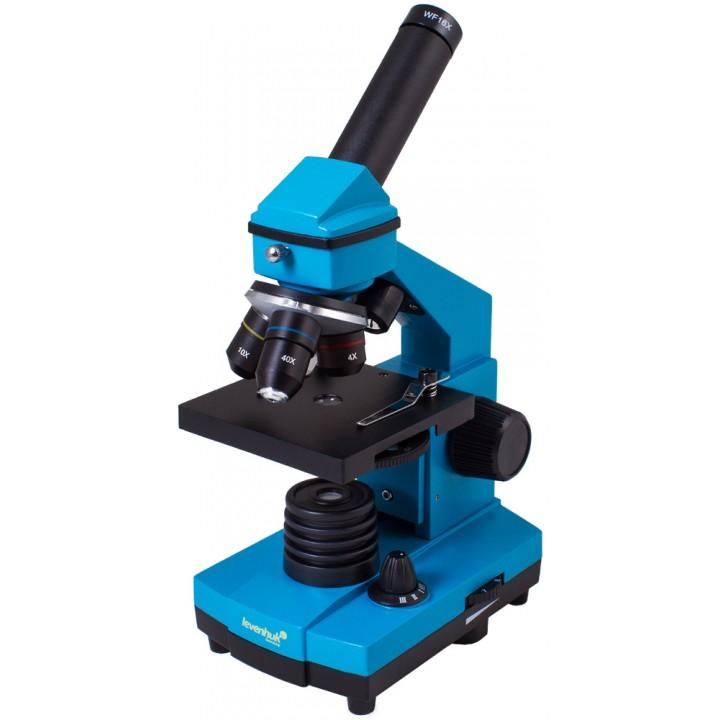 Микроскоп Levenhuk Rainbow 2L PLUS Azure (Лазурь)