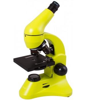 Микроскоп Levenhuk Rainbow 50L Lime (Лайм)