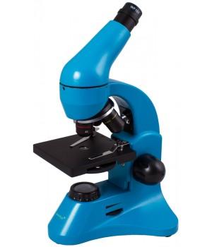 Микроскоп Levenhuk Rainbow 50L PLUS Azure (Лазурь)