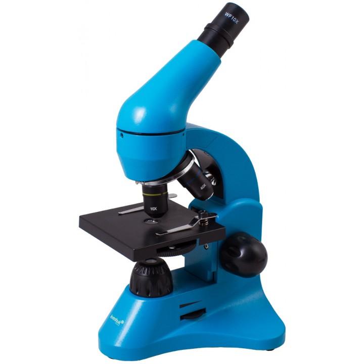 Микроскоп Levenhuk Rainbow 50L Azure (Лазурь)