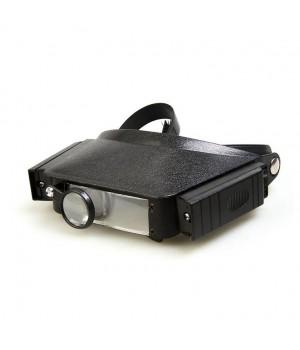 Лупа налобная с подсветкой Veber LP-23-11 1,8x-3,7x