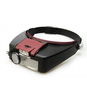 Лупа налобная с подсветкой Veber MG81007-A 1,8x-4,8x