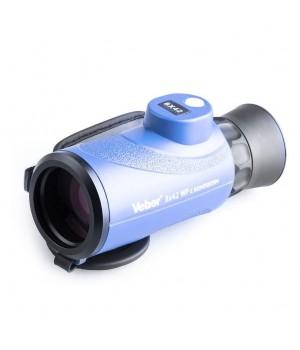 Монокуляр влагозащищенный Veber BGD 8x42C с компасом, синий