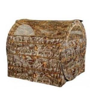 Засидка палатка на гуся, 152x152 см, камыш, компактно складывается